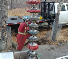 "16"" HydraSnake used to perform inspection of WW pipeline"