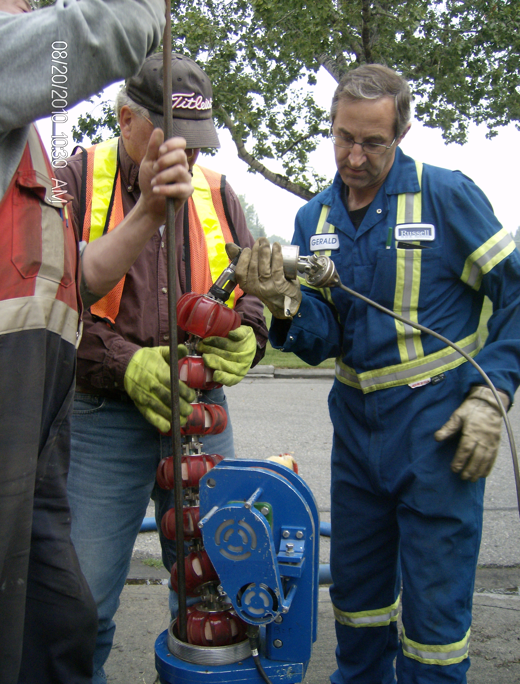 ndt water main inspections