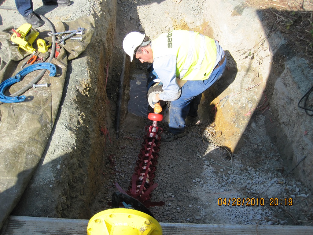 raw water pipeline inspection