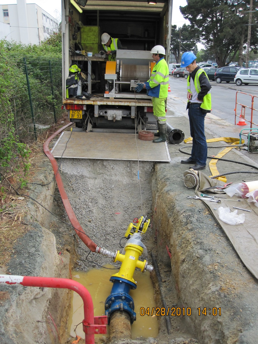 waste water pipeline inspection